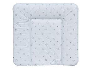 Podložka na komodu Scarlett Hvězdička - bílá - 74 x 72 cm