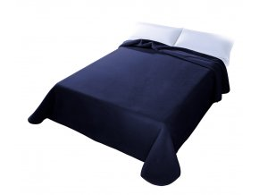 Španělská deka 001 - námořnická modrá (09), 160x220 cm