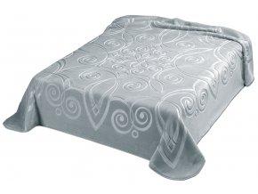 Španělská deka 516 - šedá (51), 160x220 cm
