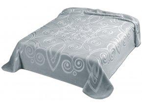 Španělská deka 516 - šedá (51), 220x240 cm