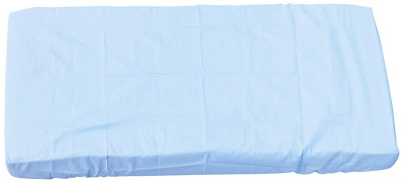 Scarlett, Prostěradlo do postýlky - Scarlett Blanka - modrá 120 x 60 cm
