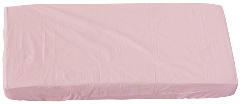 Scarlett, Prostěradlo do postýlky - Scarlett Blanka - růžová 120 x 60 cm
