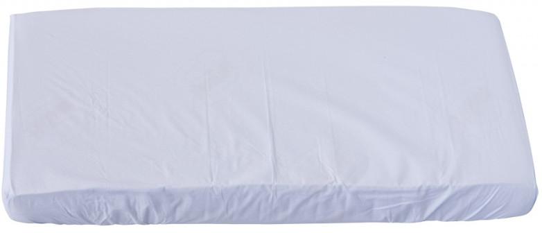 Scarlett, Prostěradlo do postýlky - Scarlett Blanka - bílá 120 x 60 cm