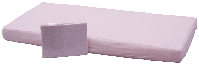 Prostěradlo  do dětské postýlky nepropustné Scarlett  růžová 120x60 cm