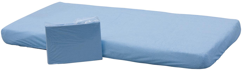 Scarlett, Prostěradlo nepropustné - Scarlett /120x60 cm/ - modrá