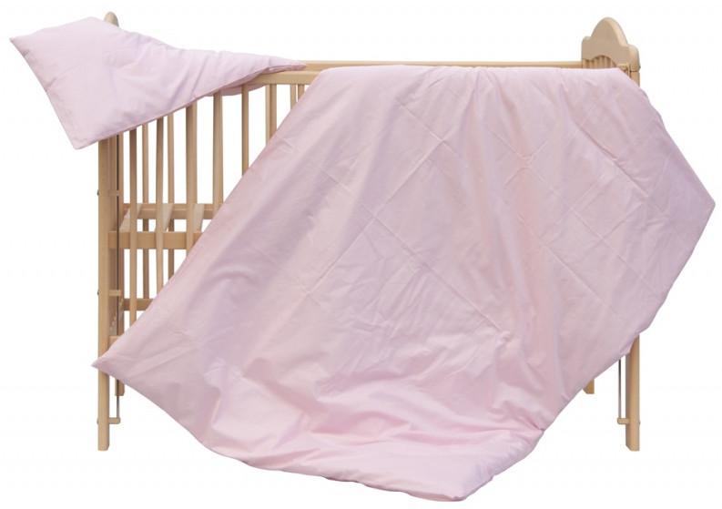 Scarlett, Dětské povlečení 2dílné - Scarlett Blanka - růžová 100 x 135 cm