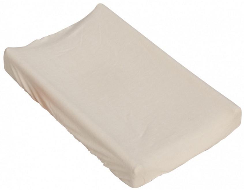 Prostěradlo na přebalovací podložku nebo matraci do kolébky či koše - béžová 85 x 55 cm