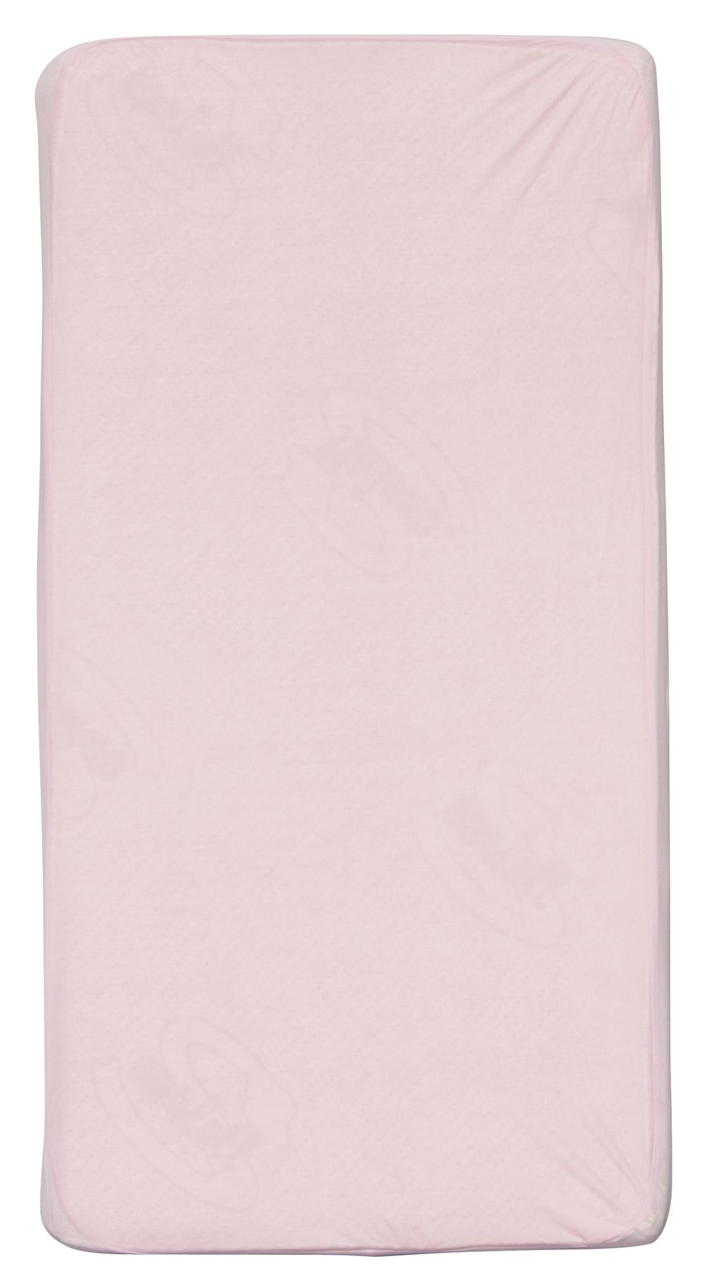 Scarlett, Nepropustné prostěradlo TENCEL - růžová 60 x 120 cm