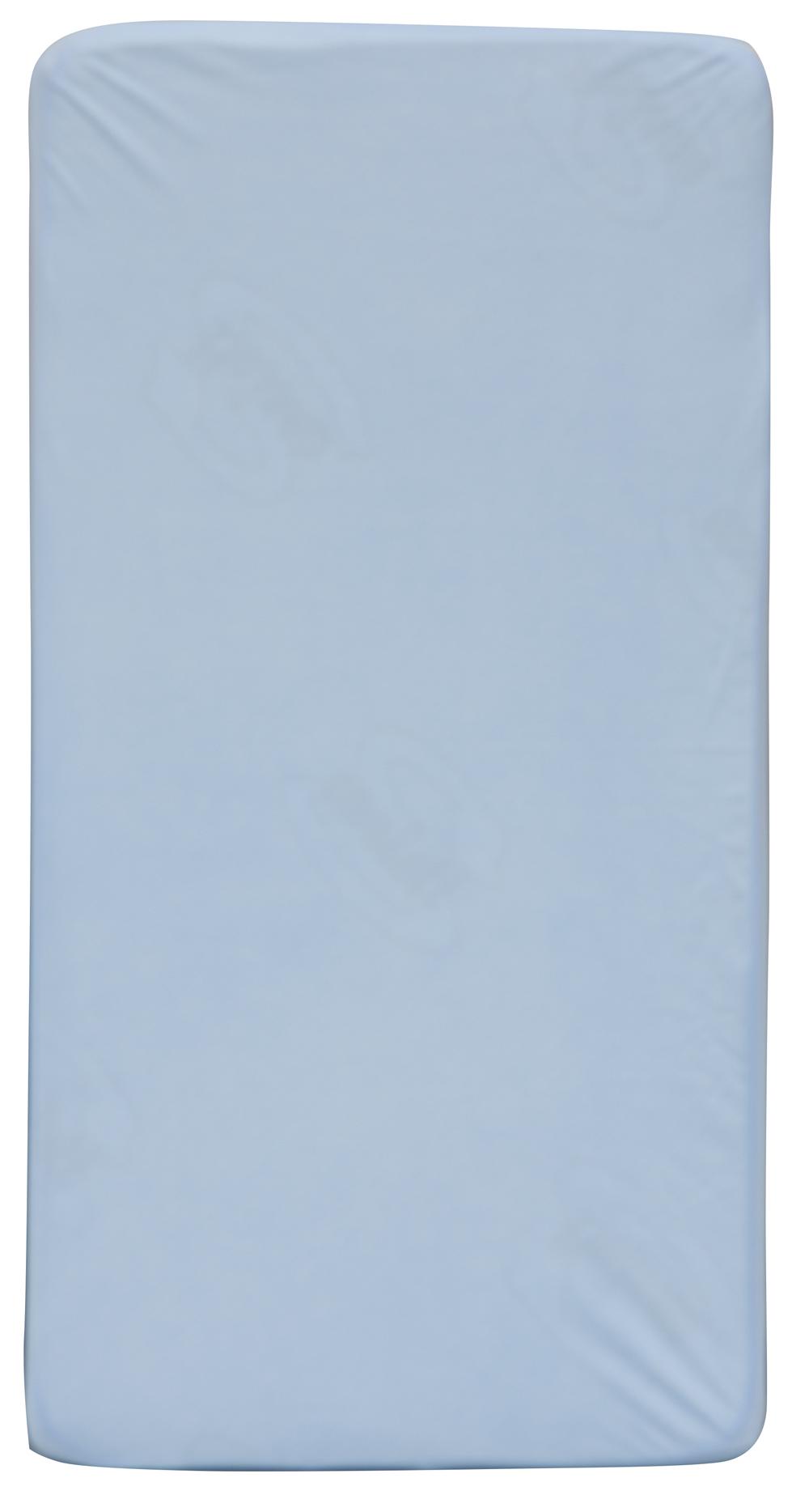 Scarlett, Nepropustné prostěradlo TENCEL - modrá 60 x 120 cm