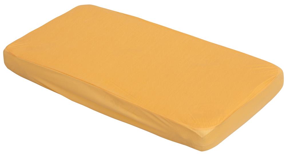 Nepropustné prostěradlo do dětské postýlky TENCEL Scarlett  oranžová 120x60 cm