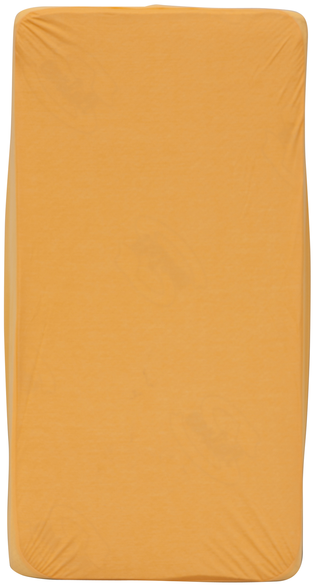 Scarlett, Nepropustné prostěradlo TENCEL - oranžová 60 x 120 cm
