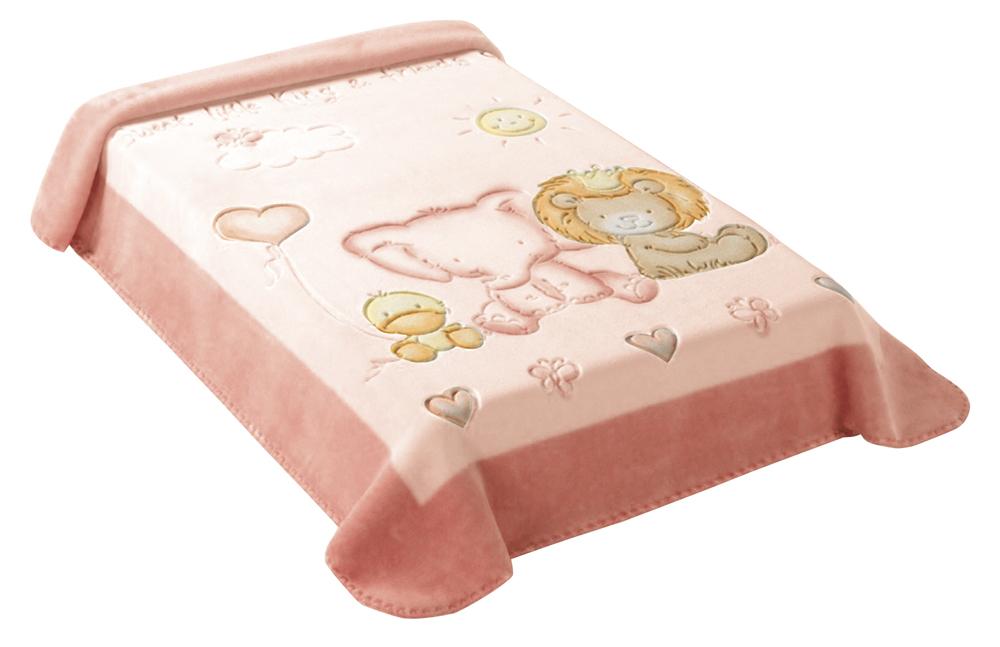 Scarlett, Španělská deka 547 - růžová, 80 x 110 cm
