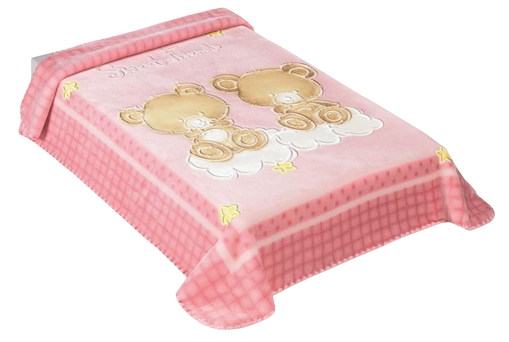 Scarlett, Španělská deka 548 - růžová, 80 x 110 cm
