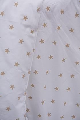 Scarlett, Dětské povlečení 2dílné - Scarlett Hvězdička - béžová 100 x 135 cm
