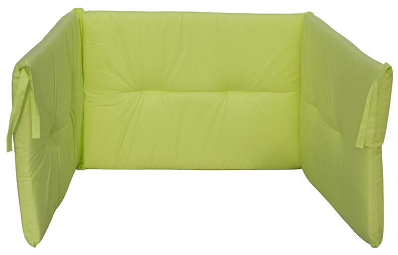 Scarlett, Mantinel do postýlky Scarlett Vega - 180 x 43 cm - zelená