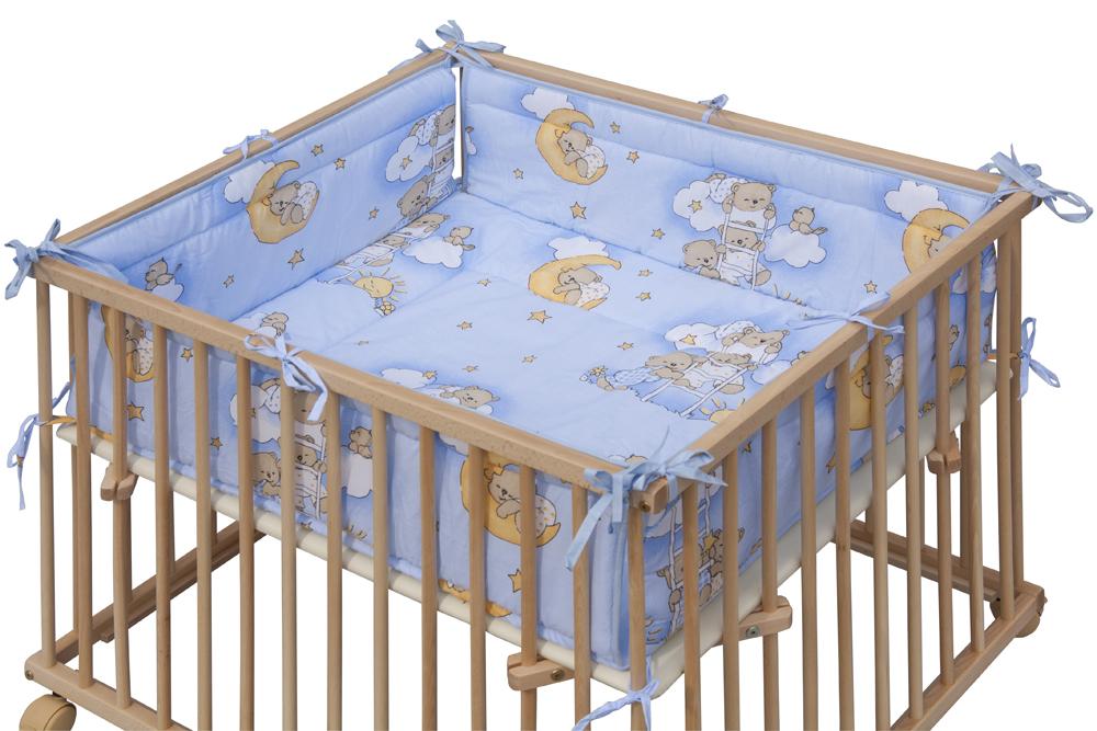 Matrace Mráček do ohrádky Honzík - modrá, 98 x 78 cm