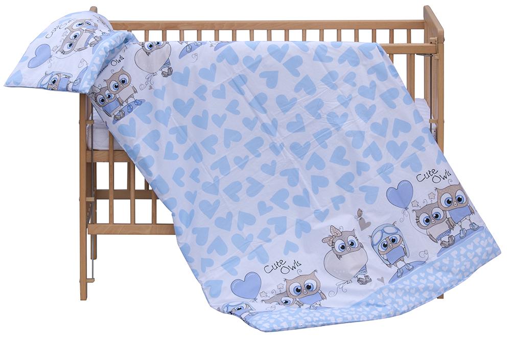 Scarlett, Dětské povlečení 2dílné Scarlett Kulíšek - modrá 100 x 135 cm