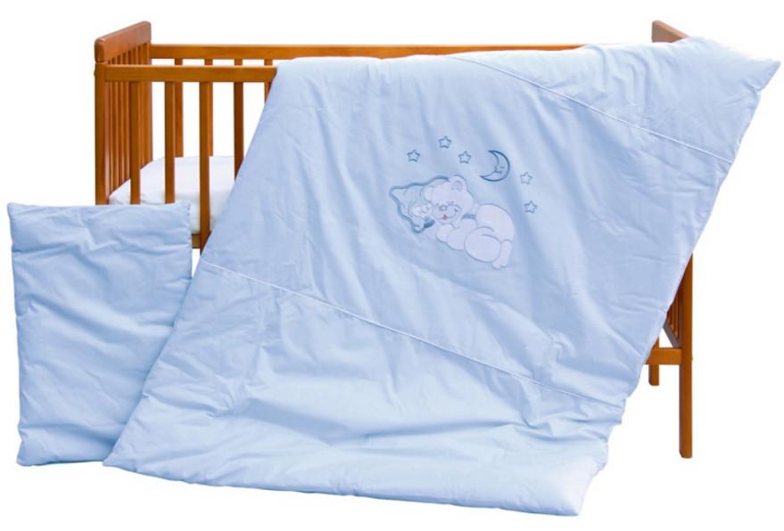 Scarlett, Dětské povlečení 2dílné - Scarlett Měsíček - modrá 100 x 135 cm