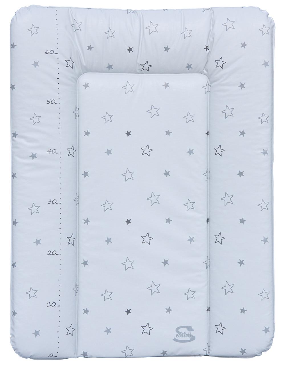 Podložka na komodu Scarlett Hvězdička - bílá - 50 x 72 cm