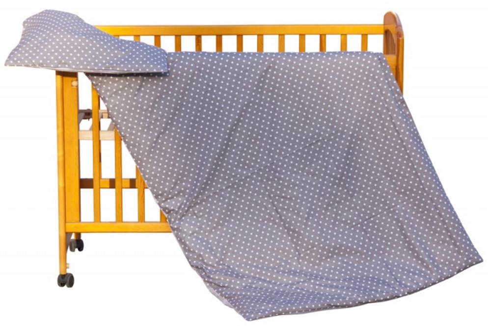 Scarlett, Dětské povlečení 2dílné - Scarlett Puntík - hněďá 100 x 135 cm