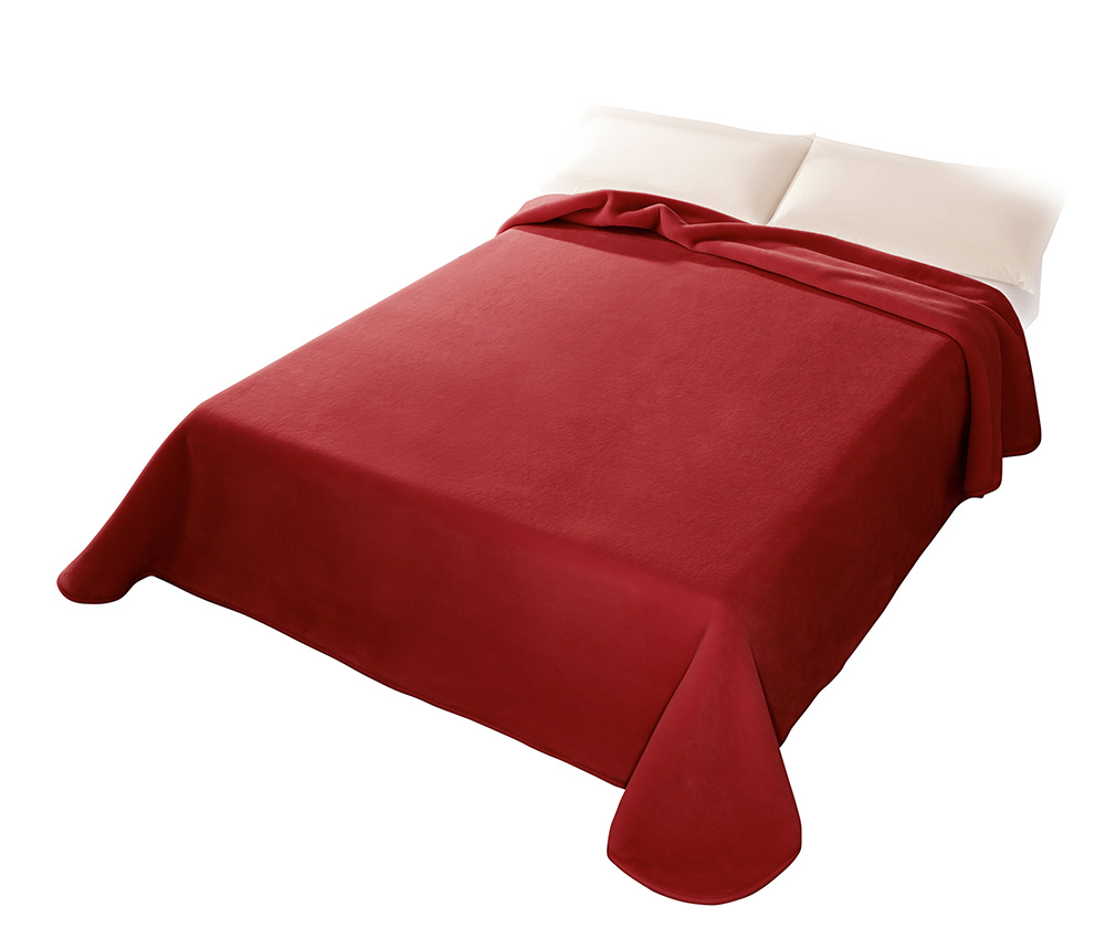 Španělská deka 001 - červená (34), 160x220 cm Scarlett
