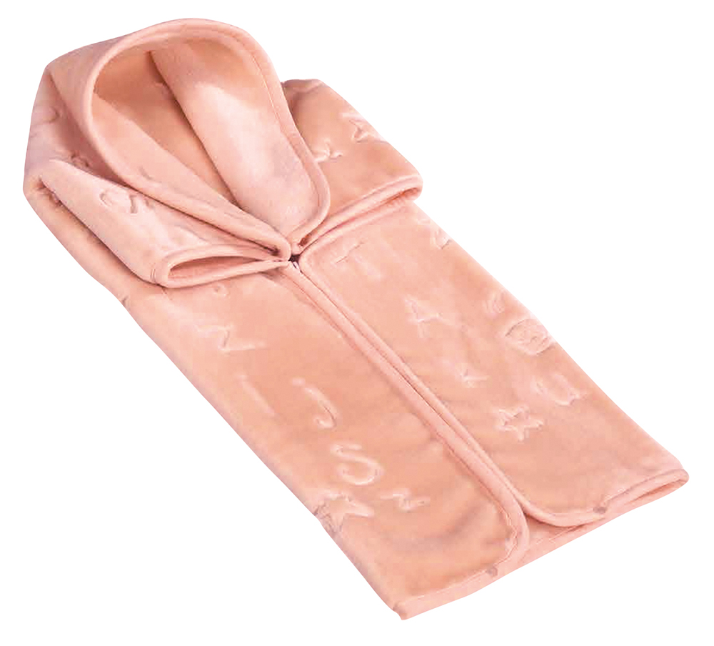 Scarlett, Španělský pytel do autosedačky 521 - růžová, 80 x 90 cm