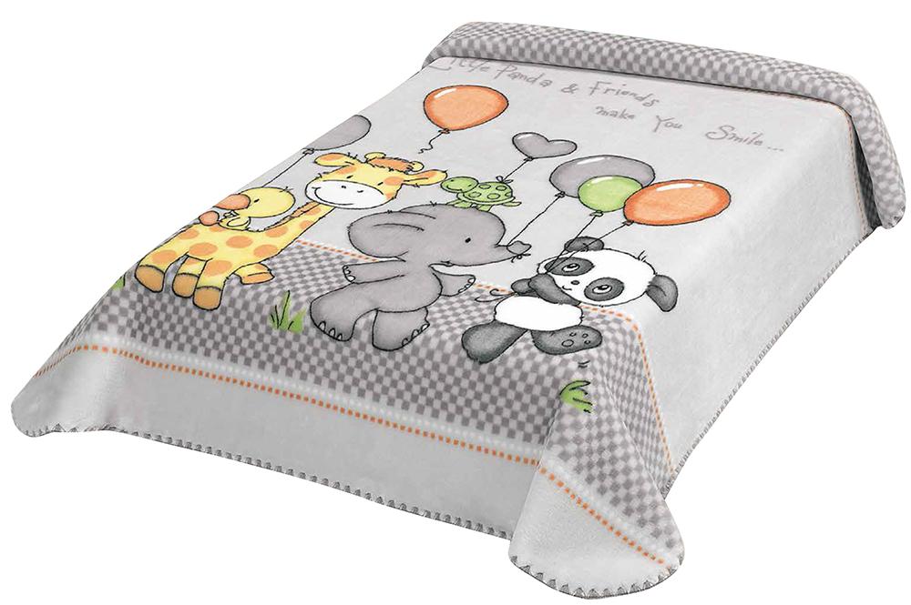 Scarlett, Španělská deka 636 - šedá, 80 x 110 cm