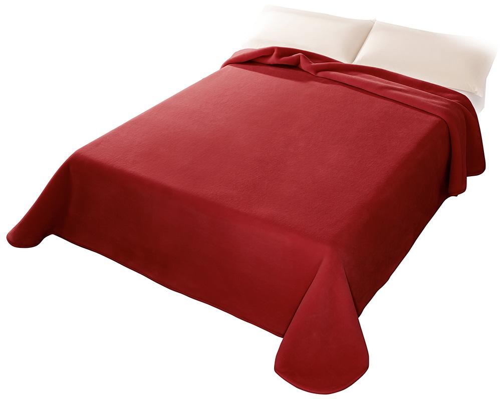Španělská deka 001 - červená (34), 220x240 cm Scarlett