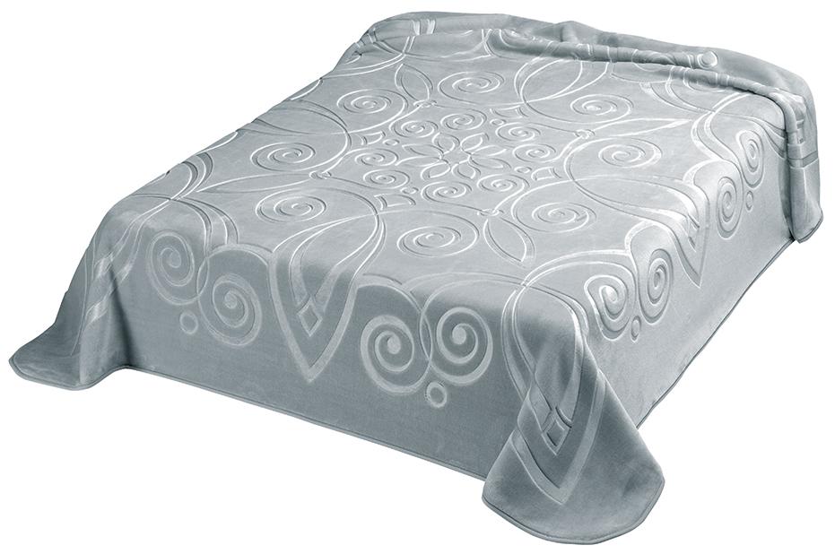 Scarlett, Španělská deka 516 - šedá (51), 160x220 cm