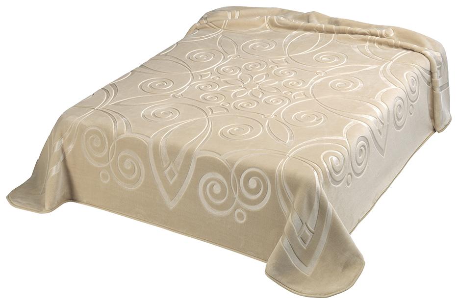 Scarlett, Španělská deka 516 - béžová (15), 220x240 cm