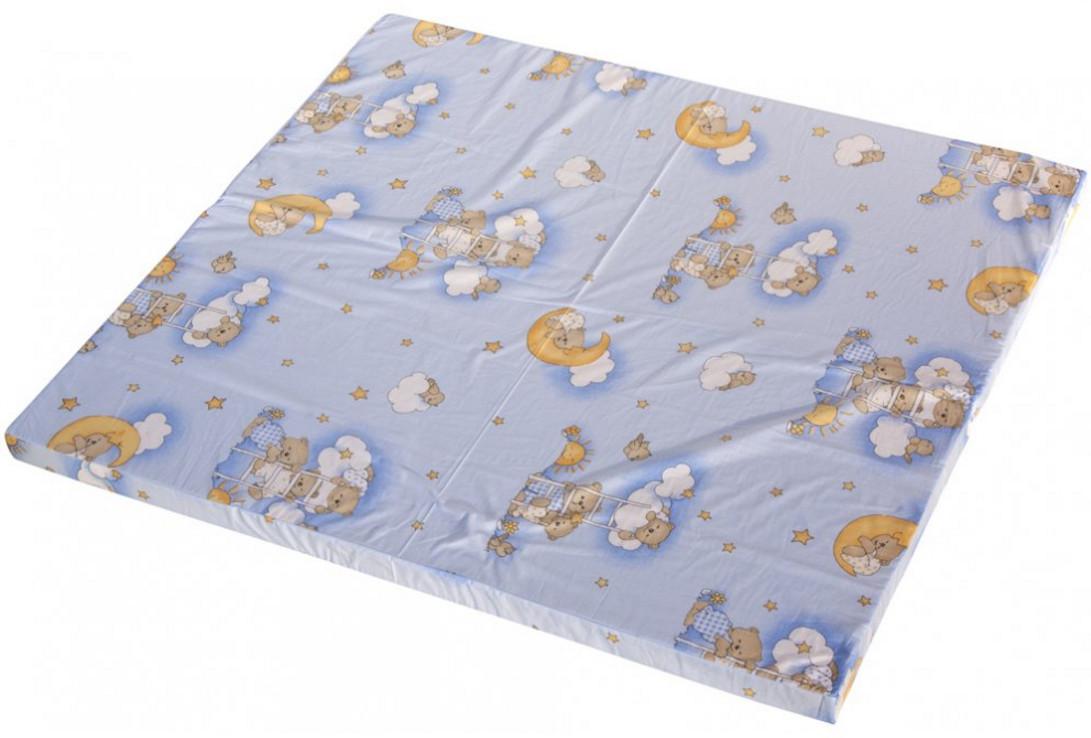 Scarlett, Hrací deka - Scarlett Mráček do ohrádky Klára - modrá, 140 x 130 cm