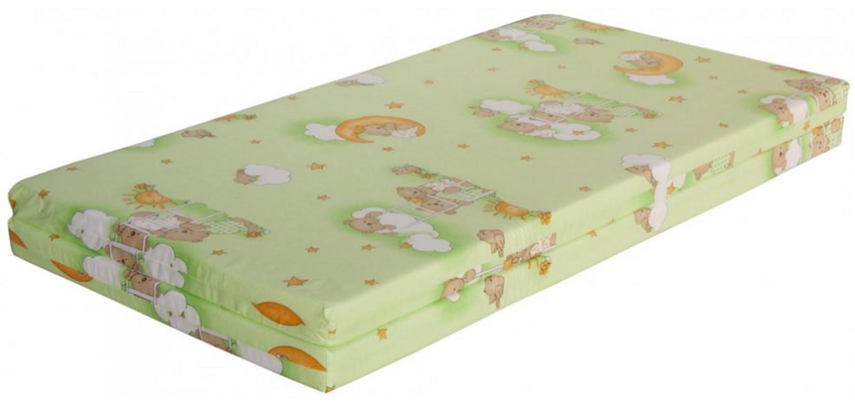 Scarlett, Hrací deka - Scarlett Mráček do ohrádky Klára - zelená, 140 x 130 cm