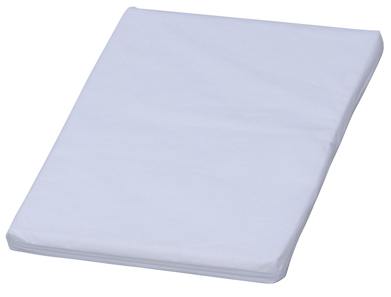 Nepropustná přebalovací podložka Scarlett - bílá - 70 x 50 x 4 cm