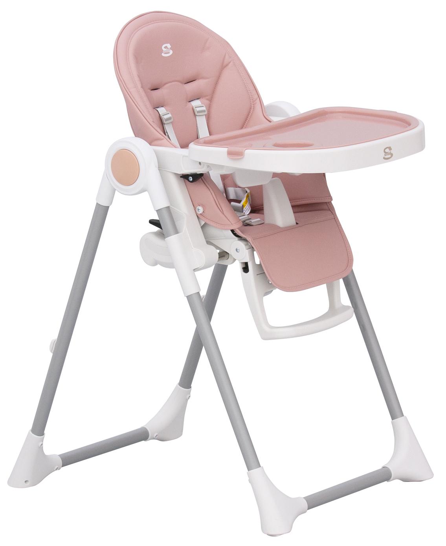 Scarlett, Jídelní židlička Scarlett Rosa - růžová