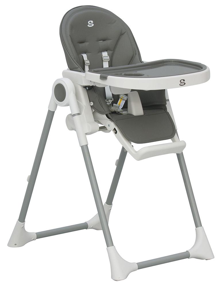 Scarlett, Jídelní židlička Scarlett Rosa - šedá