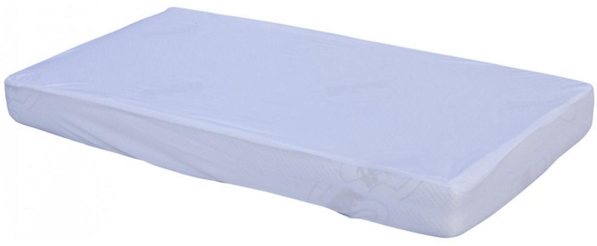 Nepropustné prostěradlo do dětské postýlky TENCEL Scarlett bílá 120x60 cm