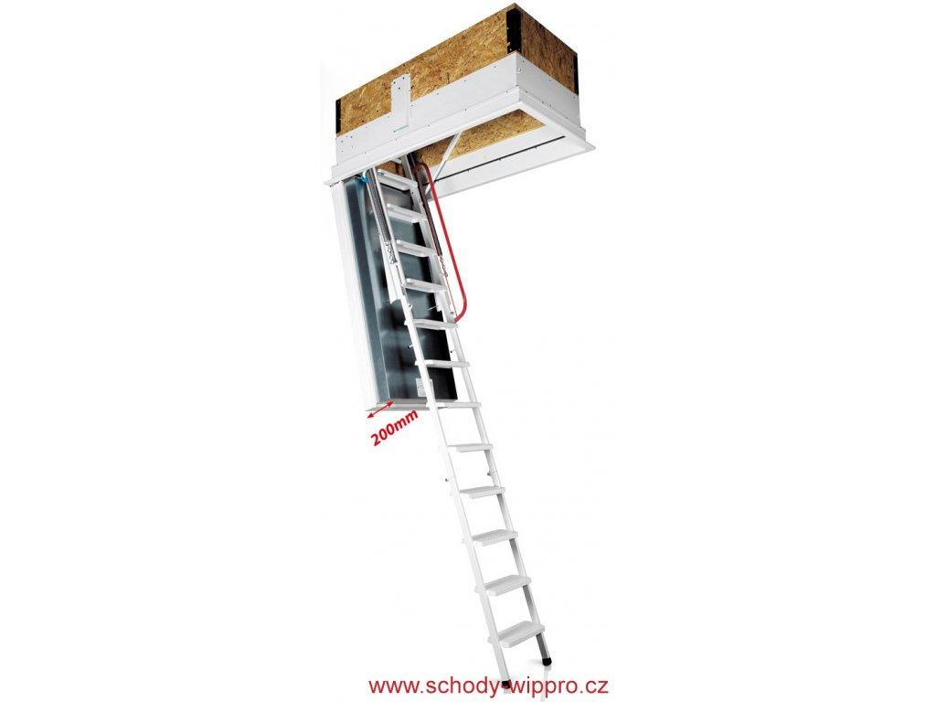 Bodentreppe Isotec 200 Brandschutz Wippro 3