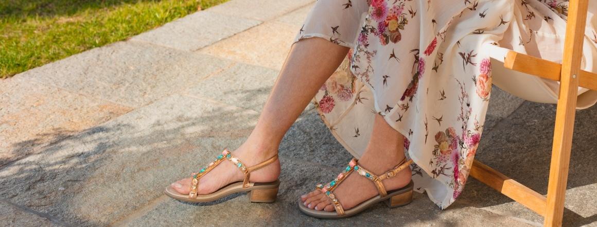 Zdravá chůze s obuví Scholl