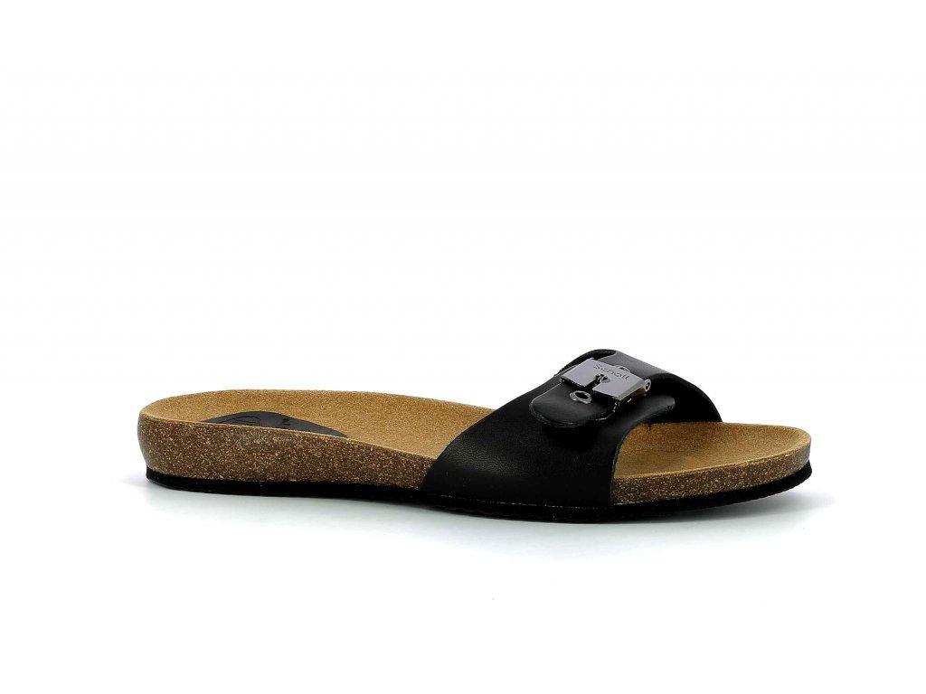 Scholl BAHAMAIS - dámské zdravotní  pantofle (Velikost 37)