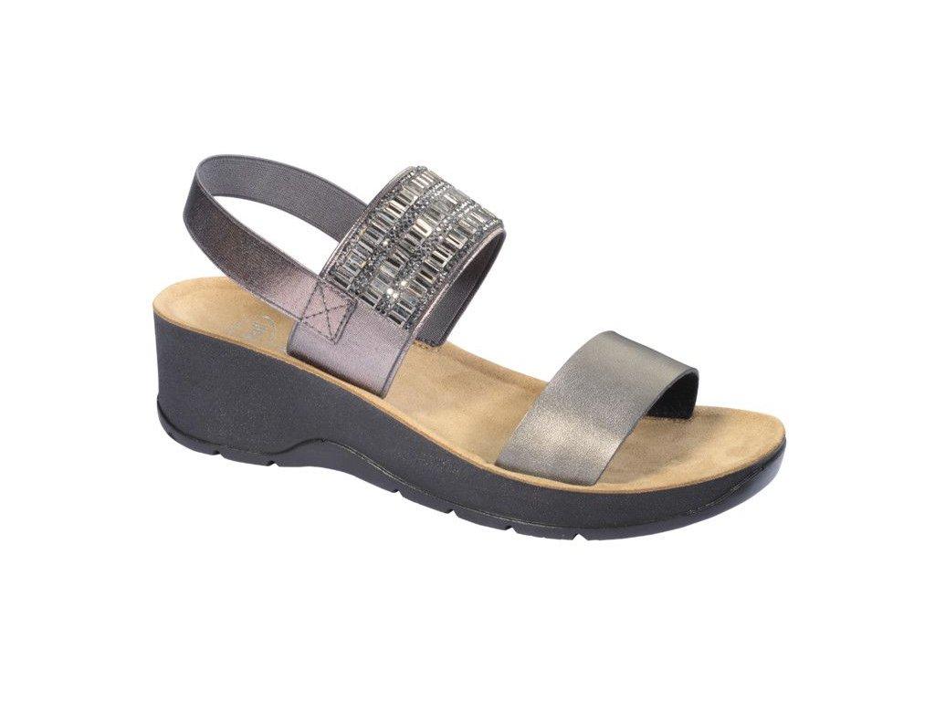 Scholl CRISTINA  -  dámské sandále  na klínku (Velikost 36)