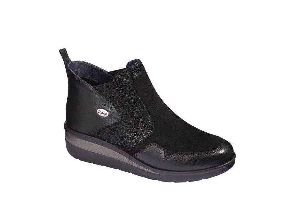 Scholl JUDYBOOTIE   - dámská kotníková obuv (Velikost 37)