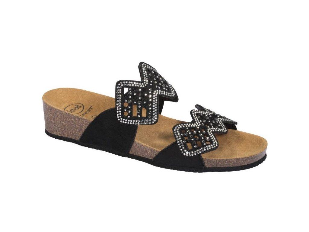 Scholl CAMILLA MicroStrass - dámské pantofle (Velikost 37)