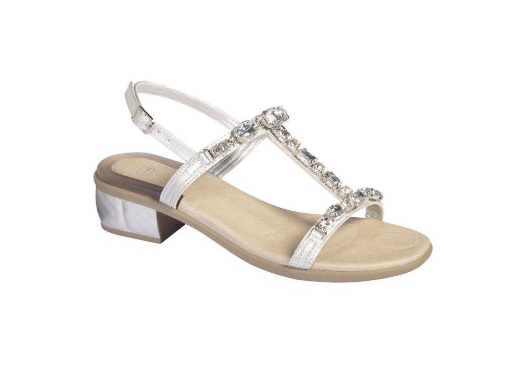 Scholl KLIO dámské sandály na podpatku (Velikost 37)