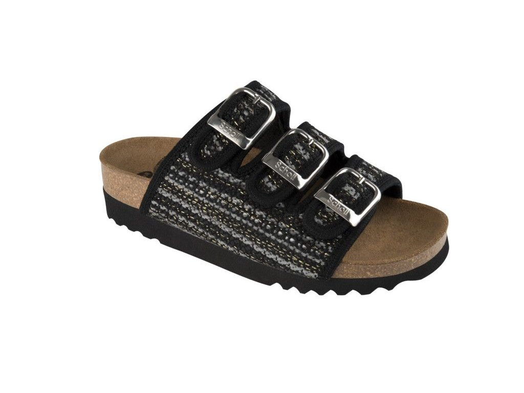 Scholl RIO WEDGE - dámské zdravotní pantofle (Velikost 37)