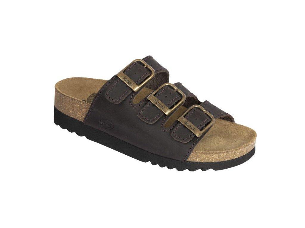 Scholl RIO WEDGE AD - dámské zdravotní pantofle (Velikost 41)