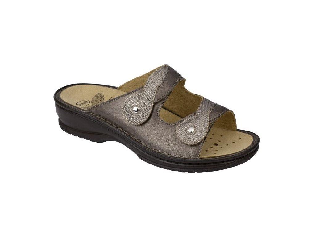 Scholl DORONINA - dámské pantofle (Velikost 37)