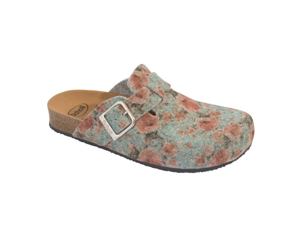 Scholl GREENY ROSE  - dámské pantofle (Velikost 42)