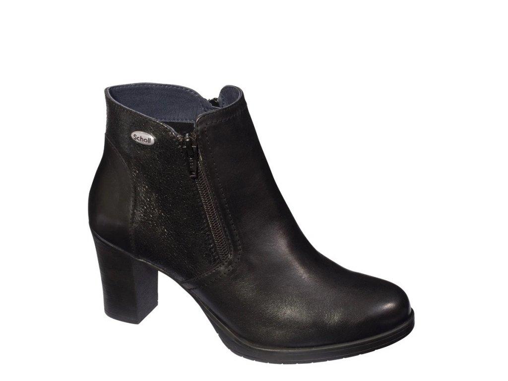 Scholl ANGELINA - dámská kotníková obuv (Velikost 39)