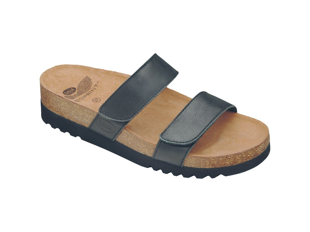 Scholl LUSAKA - dámské zdravotní pantofle (Velikost 37)