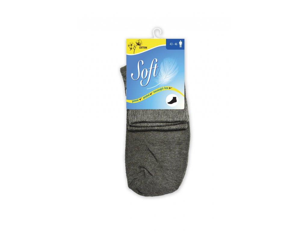 Bavlněné ponožky střední (Velikost M(39-42))